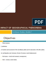 Impact of Geographical Phenomena- Form 6