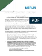 The Merlin Necessary Nine - Byline for Fin Alternatives