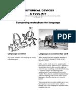 Rhetorical Devices Tool Kit - Final