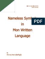 Nameless Symbols in Mon Written Language