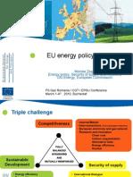 EU Energy Policy Priorities