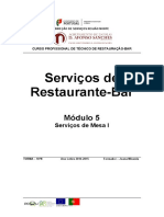 Serviços de Mesa I