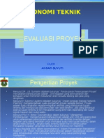 6.Evaluasi Proyek #1