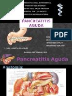 Seminario Pancreatitis Dra Lilibeth