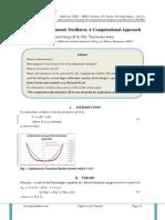 Quantum Anharmonic Oscillator, A Computational Approach