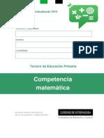 Cuaderno E. Primaria CM 2015