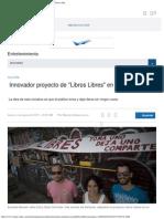 Innovador Proyecto de _Libros Libres_ en Santurce _ El Nuevo Día