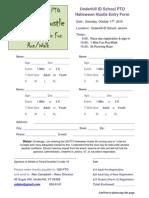 2015 Halloween Hustle Registration