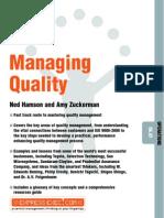 258305687 Managing Quality