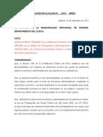 Resolucion de Alcaldia Nº