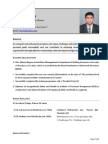 Facility Manager Resume