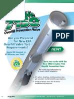 71SO-T Testable Overfill Prevention Valve
