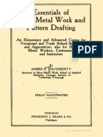 9. Essentials of Sheet Metal Work and Pattern Drafting 1918