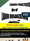 ULP OF LABOR ORGANIZATIONS.ppt