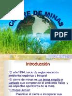 IV Cierre de Minas