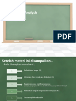 Job Safety Analysis Utk Peserta