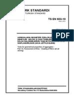 TS EN 933-10
