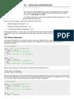 Perl Regular Expressions