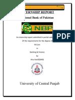 Report of Nbp