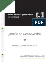 Diseño de Información (t.01) Fundamentos DISEÑO  WEB