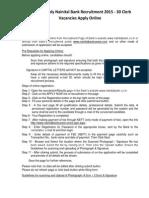 How to Apply Nainital Bank Recruitment 2015 - 30 Clerk Vacancies Apply Online