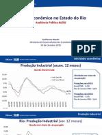 Apresentação da FIRJAN sobre as perspectivas econômicas para 2016