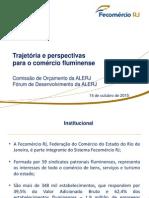 Apresentação da Fecomércio RJ sobre as perspectivas econômicas para 2016