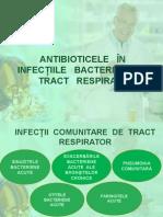Antibioterapia in Infectiile Tract Respirator