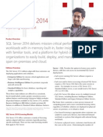 SQL Server 2014 Licensing Datasheet