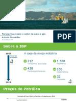 Apresentação do IBP sobre as perspectivas econômicas para 2016