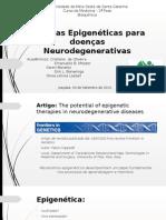 Terapias Epigenéticas Para Doenças Neurodegenerativas