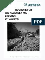 Gabions Installation Guideline 05 12