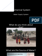 Building Water supply system