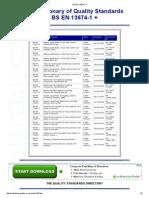 Directory of British Standards