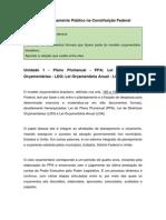 Introdução Ao Orçamento Público - Módulo III