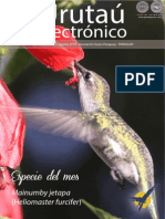URUTAU ELECTRONICO - No 8 - AGOSTO 2014 - GUYRA PARAGUAY - PORTALGUARANI