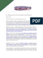 Border Report/Fighting Cartels on the Camino Real Corridor/Merida II