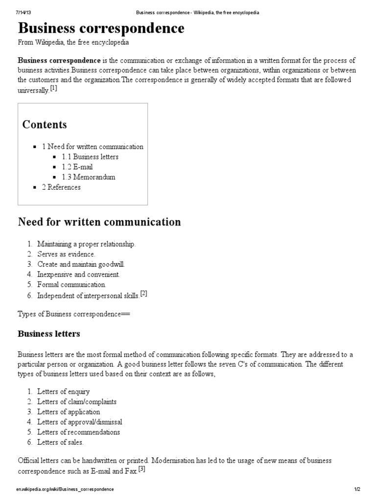 Different Formats Of Business Letter Gallery  Letter Format Formal