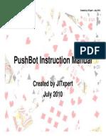 PushBot Instruction Manual 1.1