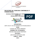 Facultad de Ciencias Contables y Financieras