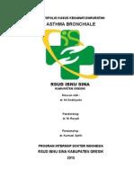 Kasus Kegawatdaruratan Asthma