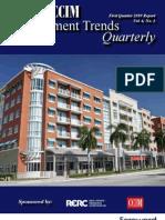 CCIM Investment Trends Quarterly - 1Q 2010