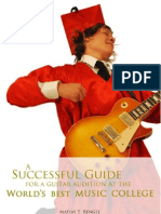 A Successful Guide for a Guitar Audition at the Worlds Best Music College - Matias T Rengel - Preview