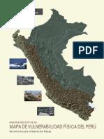 Memoria Descriptiva Del Mapa de Vulnerabilidad Fisica en Peru. Minam 2011