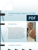 multimodal literacy profile