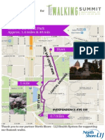 2. Netwalking Route - Walking Summit