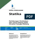 Modul Statika [TM9]