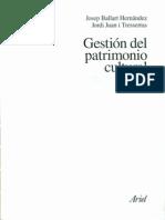GESTION PATRIMONIAL