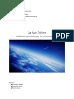 Atmósfera; problematicas ambientales asociadas