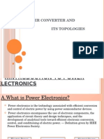 Power Converter and Its Topologies